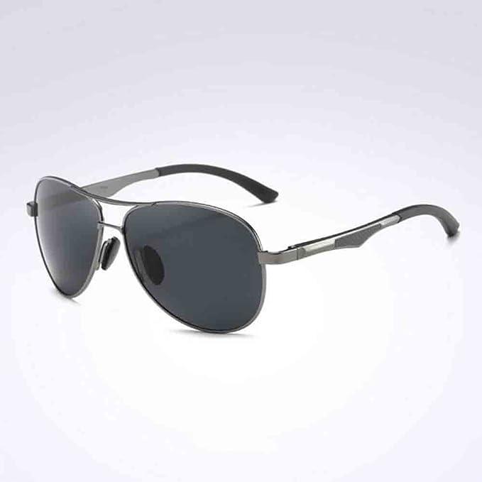bf71d5dc87 Honey Gafas De Sol De Conducción A161 para Hombre Gafas Polarizadas De Alta  Definición Marco Ultraligero (Color : Gun Grey/Black Grey): Amazon.es:  Jardín