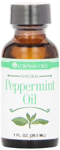 (LorAnn Natural Flavoring Oils, Natural Peppermint Oil, 1 Ounce Bottle)