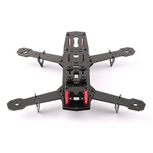 - YKS DIY Full Carbon Fiber Mini C250 Quadcopter Frame Kit for FPV Mini Quadcopter Part