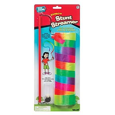 Cat toys wand Toysmith Rainbow Stunt Streamer [tag]