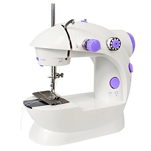 Sewing Machine, Mini-Sized Basic Crafting Mending Machine for Travelling, One of the Quickest Sewing Up Equipment