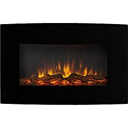 Regal Flame Broadway 35Ó Ventless Heater Electric Wall Mounted Fireplace Better than Wood Fireplaces, Gas Logs, Fireplace Inserts, Log Sets, Gas Fireplaces, Space Heaters, Propane from Regal Flame