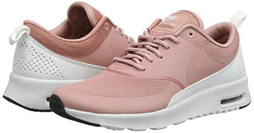 Rosa Nike Wmns Para summit Max black rust Pink Thea White Mujer Air Zapatillas Pink rust 614 q0wrfxUq