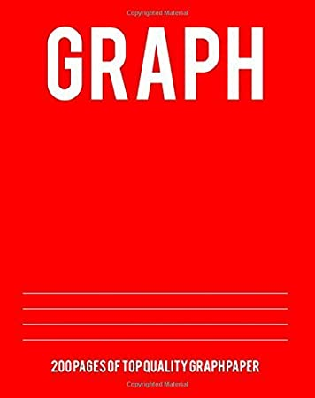 amazon graph 200 pages of top quality graph paper graph paper