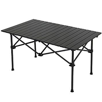 Xing Lin Mesa Al Aire Libre Exterior De Aluminio Portátil Mesa Plegable Mesa De Comedor Camping