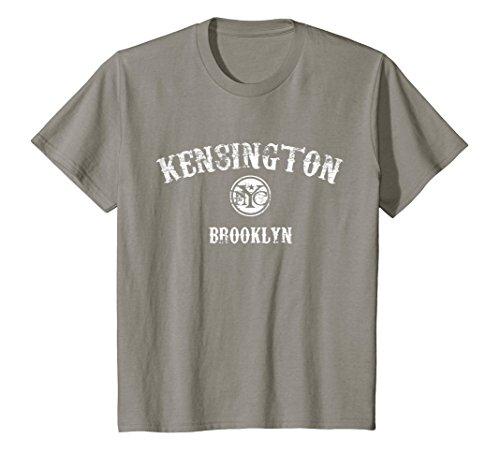 Kensington Slate (Kids Kensington Brooklyn New York City t-shirt 10 Slate)