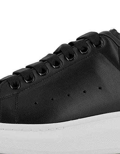 McQueen Leder Herren 441631WHGP51000 Alexander Sneakers Schwarz PwdqC6C