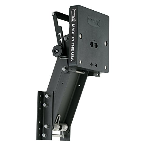 4:01 Garelick Aluminum Auxiliary Motor Bracket for 4-Stroke Motor - To 15 HP (4 Stroke Motor Bracket)