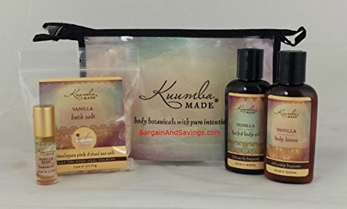 Kuumba Made Four (4) Treasures Collection Gift Set (Vanilla)