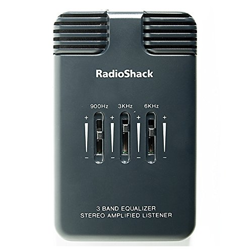 RadioShack Amplified Stereo Listener With 3-Band (Radio Shack Consumer Headphones)