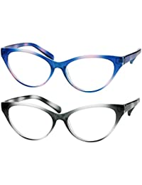 Modern Cat Eye Clear Lens Eye Glasses Frame Reading...