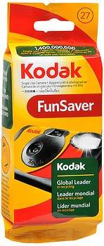 Kodak Fun Saver Single Use Camera 27 Exposures – 1 Each, Pack of 5
