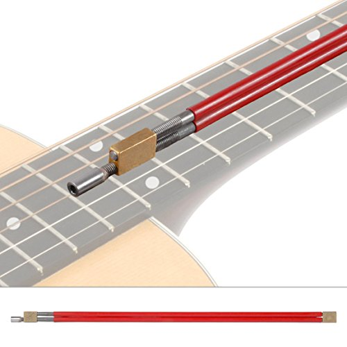 StewMac 2-Way Adjustable Hot Rod Truss Rod, 4mm Allen Nut , 24