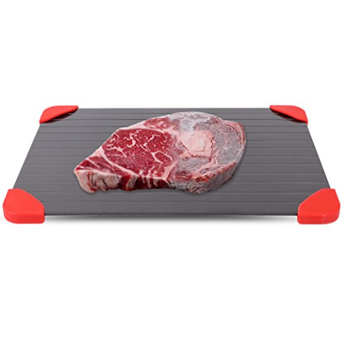 Chiachi Defrosting Tray - Thaws Frozen Food Faster The Quicker and Safest Way to Defrost Meat or Frozen Food Quickly by Chiachi