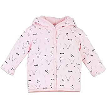 Feather Baby Girls Clothes Pima Cotton Long Sleeve Double Knit Baby Jacket Outerwear