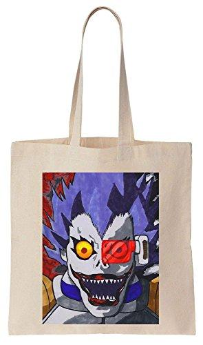 de Eyes Ryuk de Bag Parody Bolsos Shinigami Algodón Tote Reutilizables Compras a1RWfq