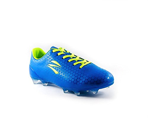 80c1eddffb1 zephz Wide Traxx Premier French Blue Soccer Cleat Youth 5.5