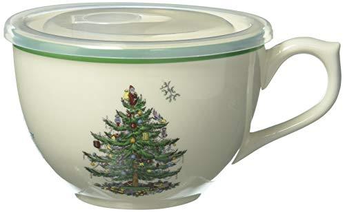 Christmas Jumbo Cup Tree (Spode Christmas Tree Jumbo Cup with Lid)