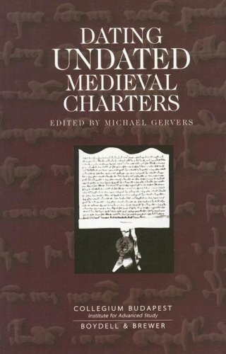 Download Dating Undated Medieval Charters PDF