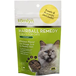 Tomlyn Hairball Remedy Laxatone Chews 60 ct