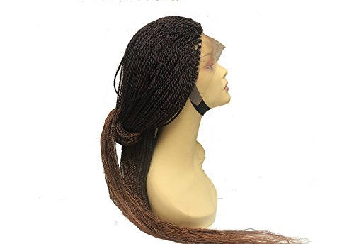 Senegalese Twist Wig Braided Wig For Black Women Lace Front Braided Wig by Qualityhairbylawlar