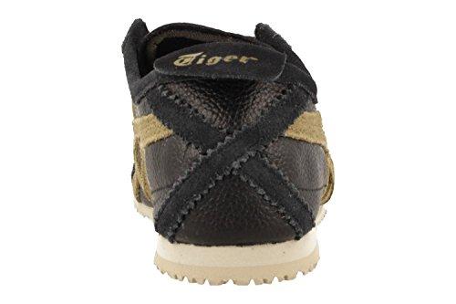 Adulte Mixte Asics Mexico 66 Gymnastique Chaussures Noir 001 de Vin q6BwZPq