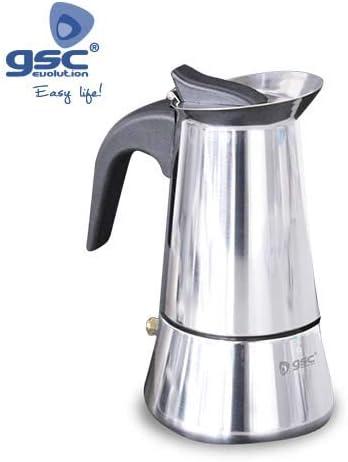 Cafetera inducción Inox 6 tazas: Amazon.es: Hogar