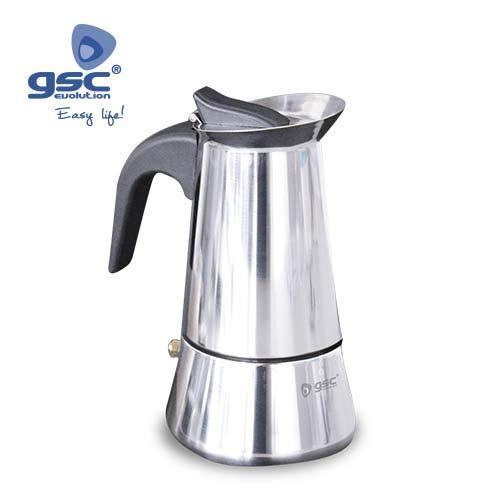 Cafetera inducción Inox 4 tazas: Amazon.es: Hogar
