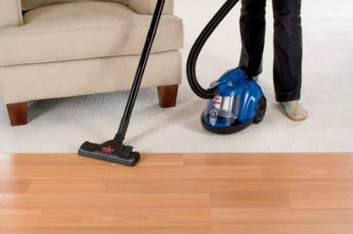 Bissell Zing Rewind Bagless Canister Vacuum Caribbean