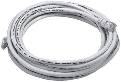 F YL 14ft Cat5E UTP Stranded Network Ethernet Patch Cable White Cat5 RJ45 LAN Wire