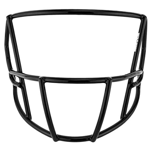 Green Gridiron Riddell Speed S2B-SW-SP White Facemask (Riddell Face Mask)
