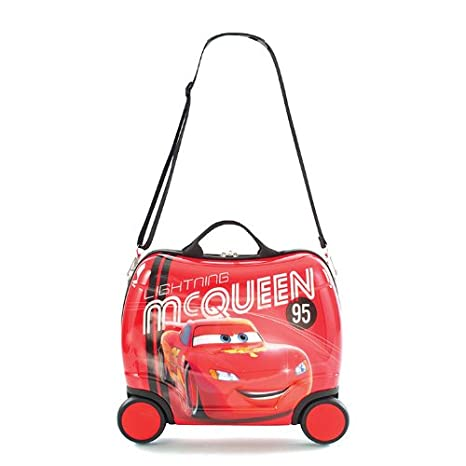 Amazon.com: Heys Disney Cars Ride-On Equipaje por Heys: Toys ...