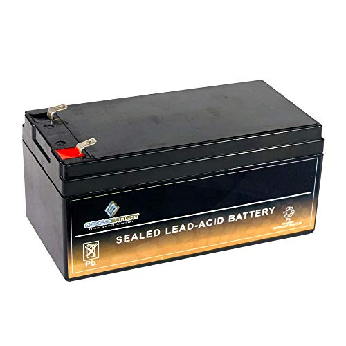 SLA Replacement Battery for 12V 3.2AH AGM Battery- Replaces BP3-12 ES3-12...