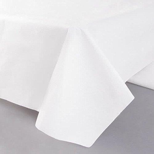 Hoffmaster 210130 CPC 54 x 108で。White TissueまたはPolyテーブルカバー – ケースof 25   B074F4TH6H