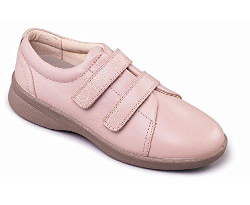 Ajuste Mujeres Hondo Anchura eeee Zapato Padders Ancho Adicional 'revive De 2' Cuerno Zapatos Cuero Desnudo Libre Gran Y Con Sistema Doble Eee 7FddqYPwT