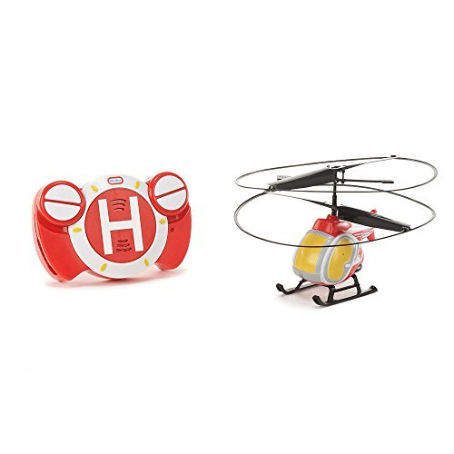 Little Helicopter (Little RC FLYERS - My First Flyer - RED Helicopter Emergency Edition With Cross)