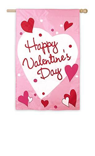 (Evergreen Flag Happy Valentine Day Garden Flag)