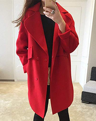 Young Bouffant Huixin Bouton Lat Styles Manches Poches Vent Coupe Longues Trench Hiver Femme fIwqIzxg