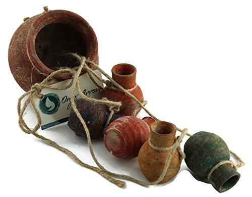 Onyx Arrow Southwestern Ceramic Hanging product image