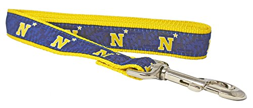 - Charm City Clothing Naval Academy Officially Licensed Premium N Star Dog Collar (6' Leash)
