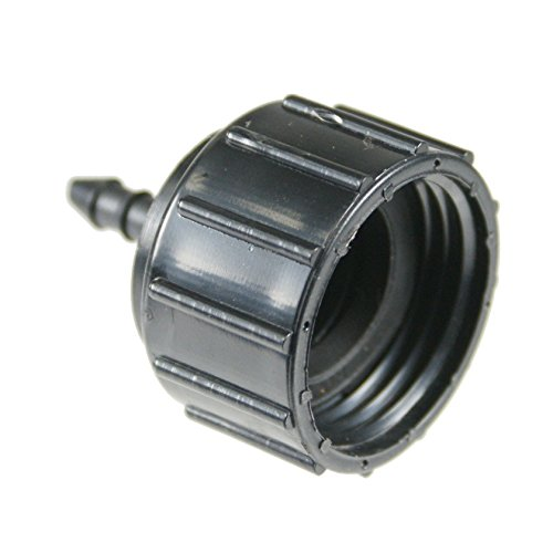 """Barbed 1/4"""" Tubing x FHT Adapter For Drip Irrigation Systems"""