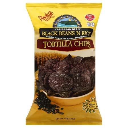 - Plockys Chip Tortilla Black Bean Rice, 7 oz
