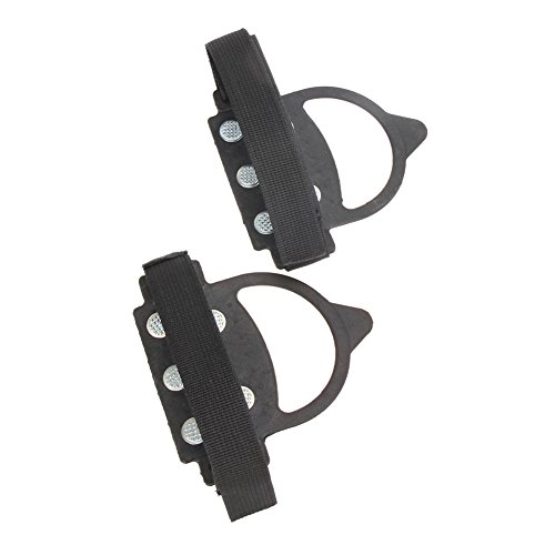 Chinatera 1 Pair One Size Fit Most Outdoor Walking Cleat Ice Gripper Anti Slip Snow Shoe Spike Grip Crampon