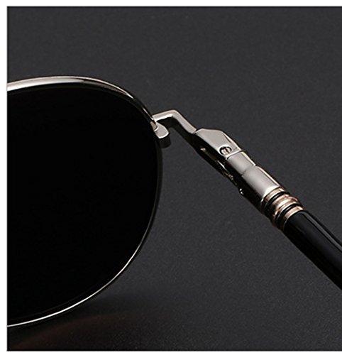 Aviator Mirrored Plateado sol militar de hombre rnow plata Classic Plateado Premium nbsp;para estilo plata nbsp;– Gafas Full de zxvWqB4wa