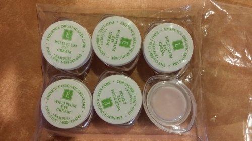 Высокопреосвященнейший Wild Plum Eye Cream Образец Набор из шести Travel Size 100% свежих органических