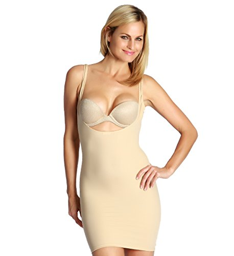 f19dc81269fd InstantFigure Womens Plus Size Shapewear Underbust Slip Tank Dress - 3XL  Nude - Buy Online in UAE. | Apparel Products in the UAE - See Prices, ...