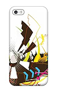 Fashion Protective Artistic Unique Animated Case Cover For Iphone 5/5s