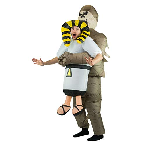 Bodysocks Adult Inflatable Mummy Fancy Dress Costume]()