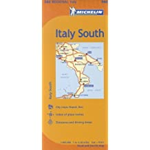Italy: South Region Map MH564 1:400,000