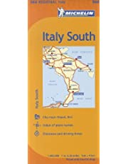 Michelin Italy: South / Italie: Sud Map 564